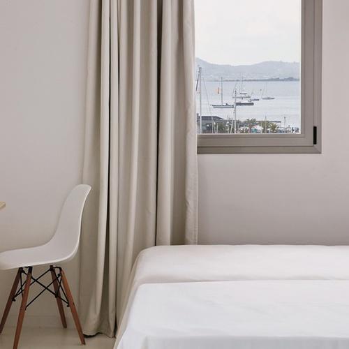 HABITACIÓN DOBLE CON VISTA MAR Hotel Eolo