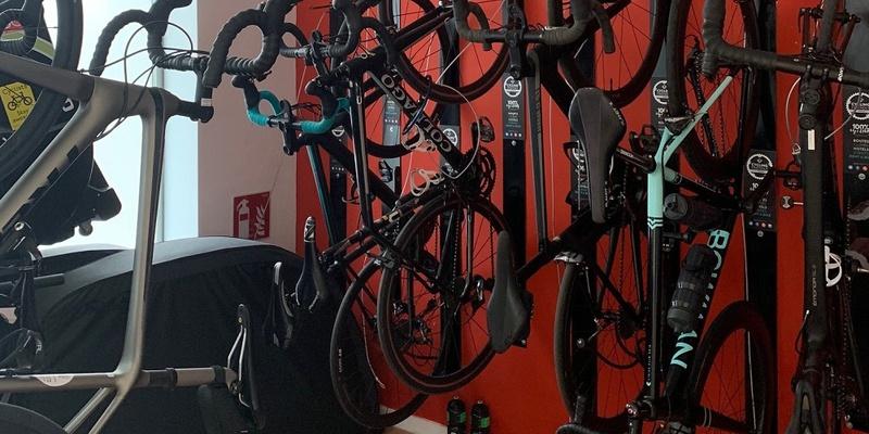 Cuarto de Bicicletas Hotel Eolo